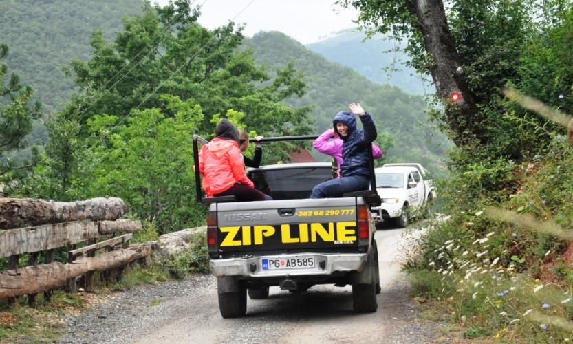ADRENALINE ZIP LINE!