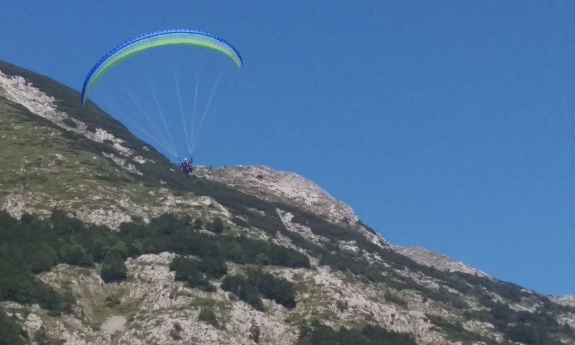 FLYING IN DURMITOR!