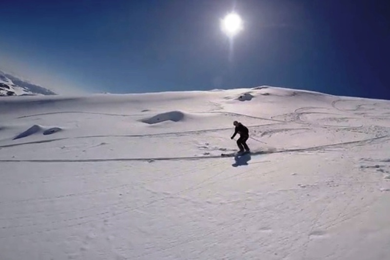 MARCH SKIING ACTION!