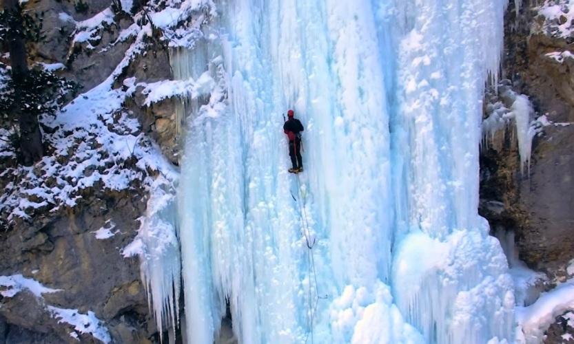 ICE CLIMB!